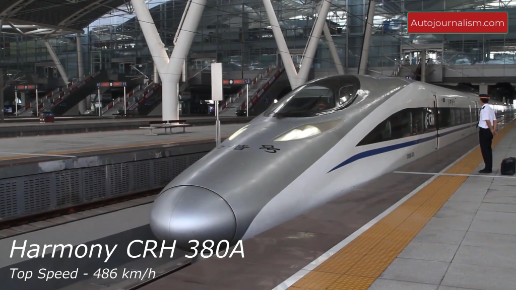 Top 7 Fastest Trains in the World High Speed Trains Names List Top Speed Autojournalism.com 7