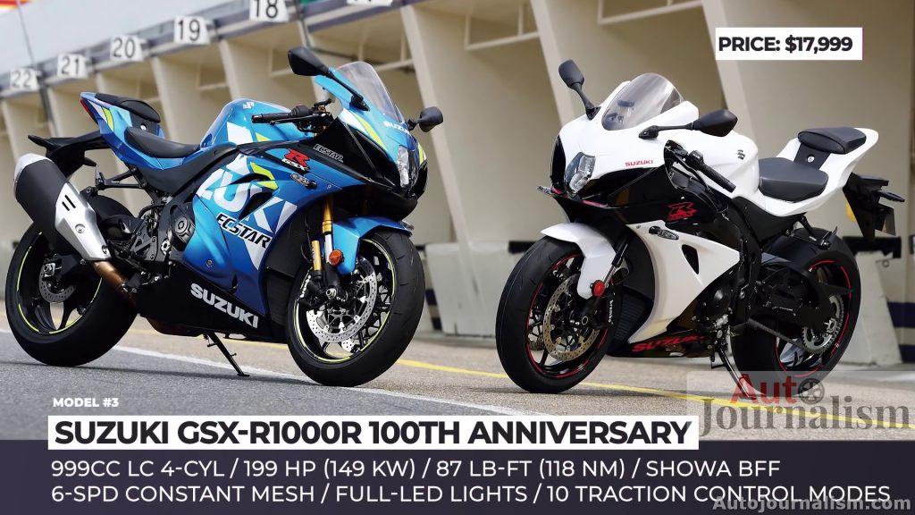 SUZUKI GSX-R1000R 100TH ANNIVERSARY