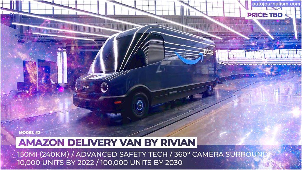 Top 10 Best Electric Vans in the world
