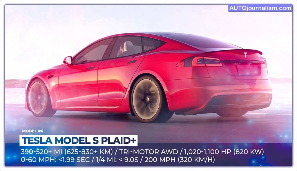 Top 10 Best American Electric Cars list 4