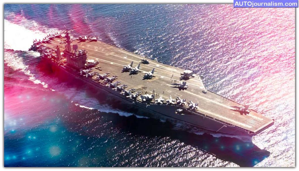 Top 10 Fastest Aircraft Carriers and WarShip in the World 11