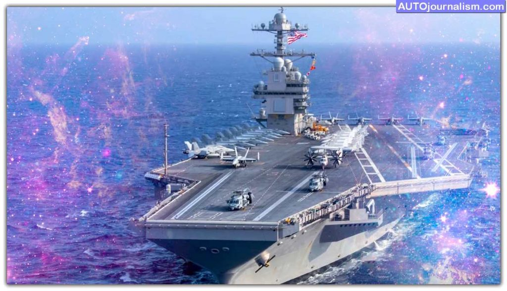 Top 10 Fastest Aircraft Carriers and WarShip in the World 9
