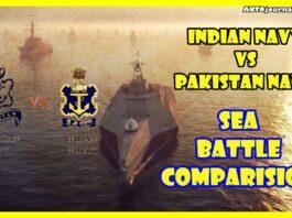 Indian Navy VS Pakistan Navy Comparison