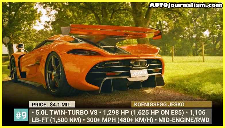 Super Cars naturally aspirated